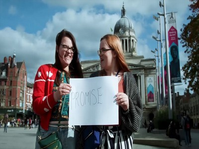 Nottingham copywriter's video about words