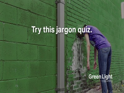 Image for jargon quiz by Nottingham copywriter