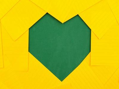 Image of heart for copywriting blog